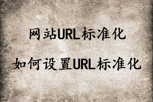 「南昌seo」什么是URL标准化,如何设置URL标准化